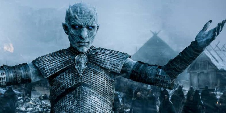 The Night King from HBO's Game of Thrones